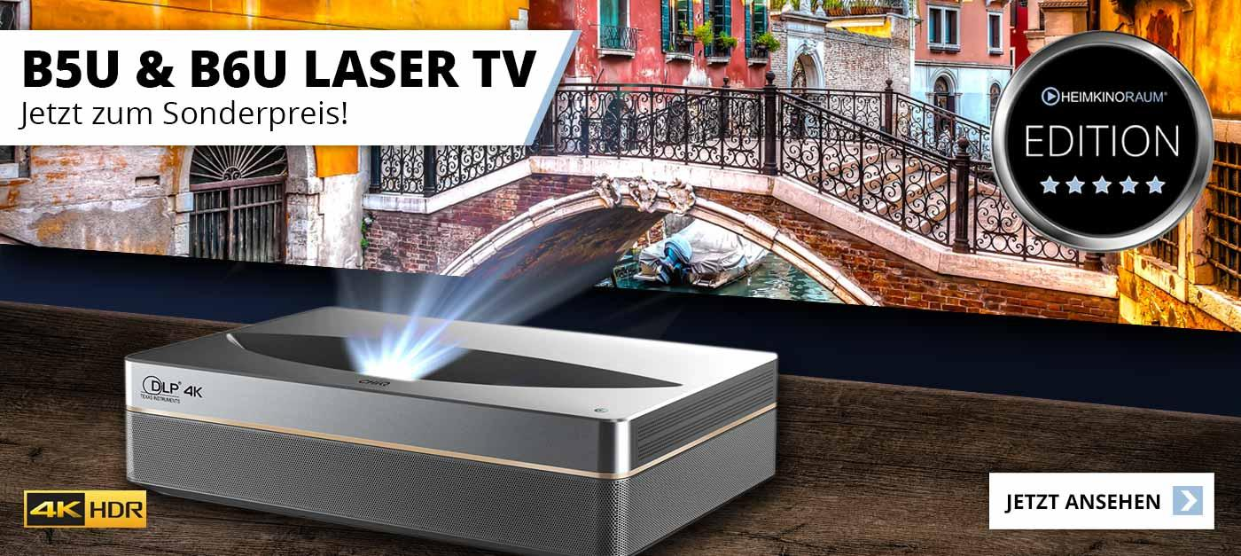 ChiQ B5U 4K Laser TV - HEIMKINORAUM Edition