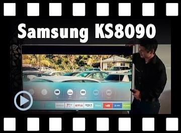Samsung KS8090 Kurzvorstellung UE 48 55 65 75KS8090 LED Smart TV Test