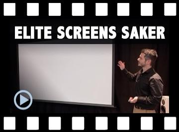 Motorleinwand Elite Screens Saker Max White Test