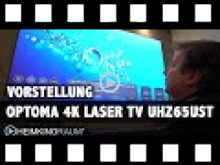 4K Laser TV OPTOMA UHZ65UST 100
