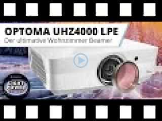 Vorstellung Optoma UHZ4000 Light Power Edition - Der ultimative Wohnzimmer Beamer
