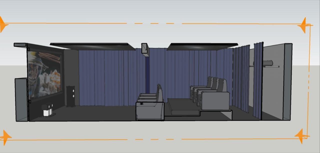 3d planung blick aus der 2 sitzreihe 3d planung längsschnitt