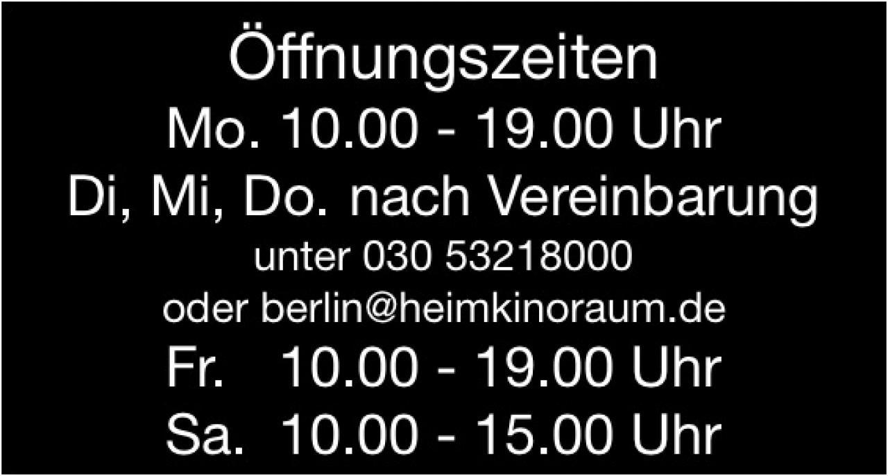HEIMKINORAUM Berlin