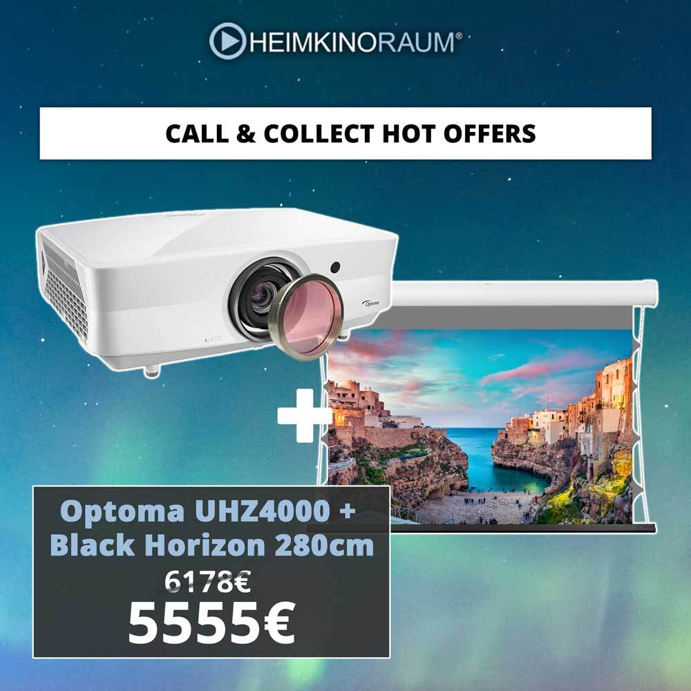 Optoma UHZ4000 Black Horizon