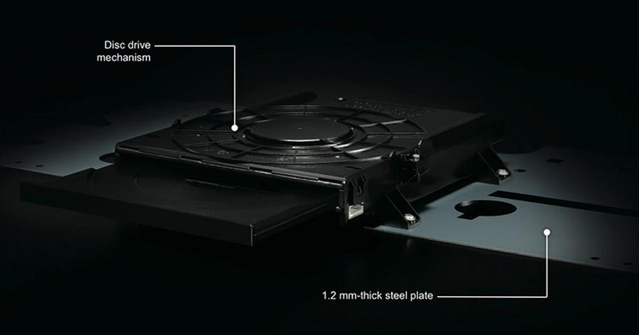 Yamaha BD-A1060 Stabile Konstruktion