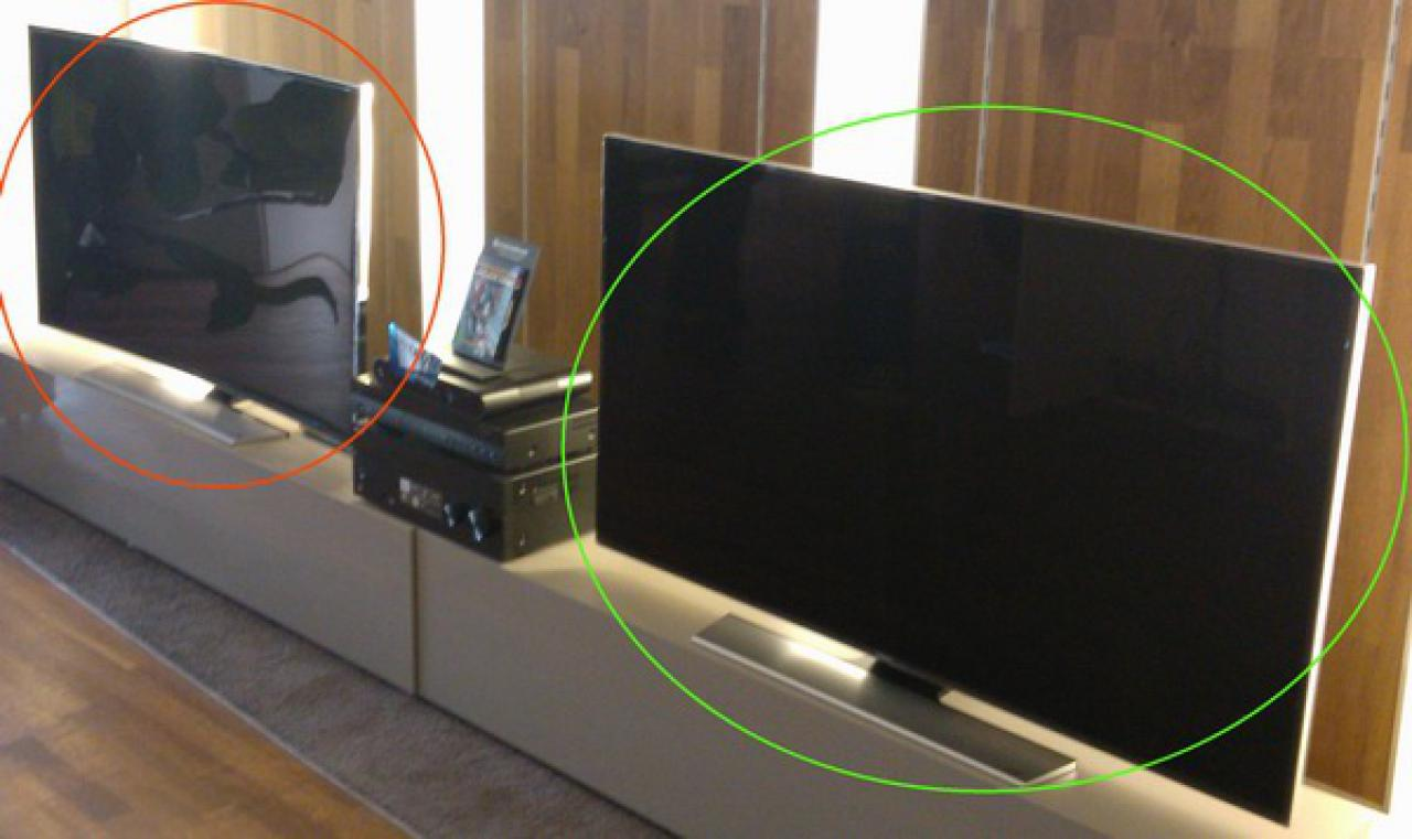 Samsung Varianten Curved Flat TVs
