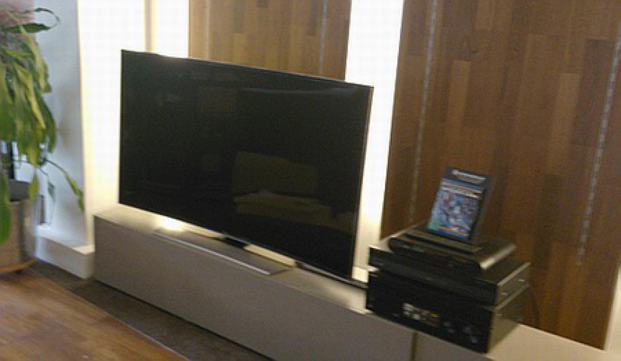 Samsung TV im Heimkino