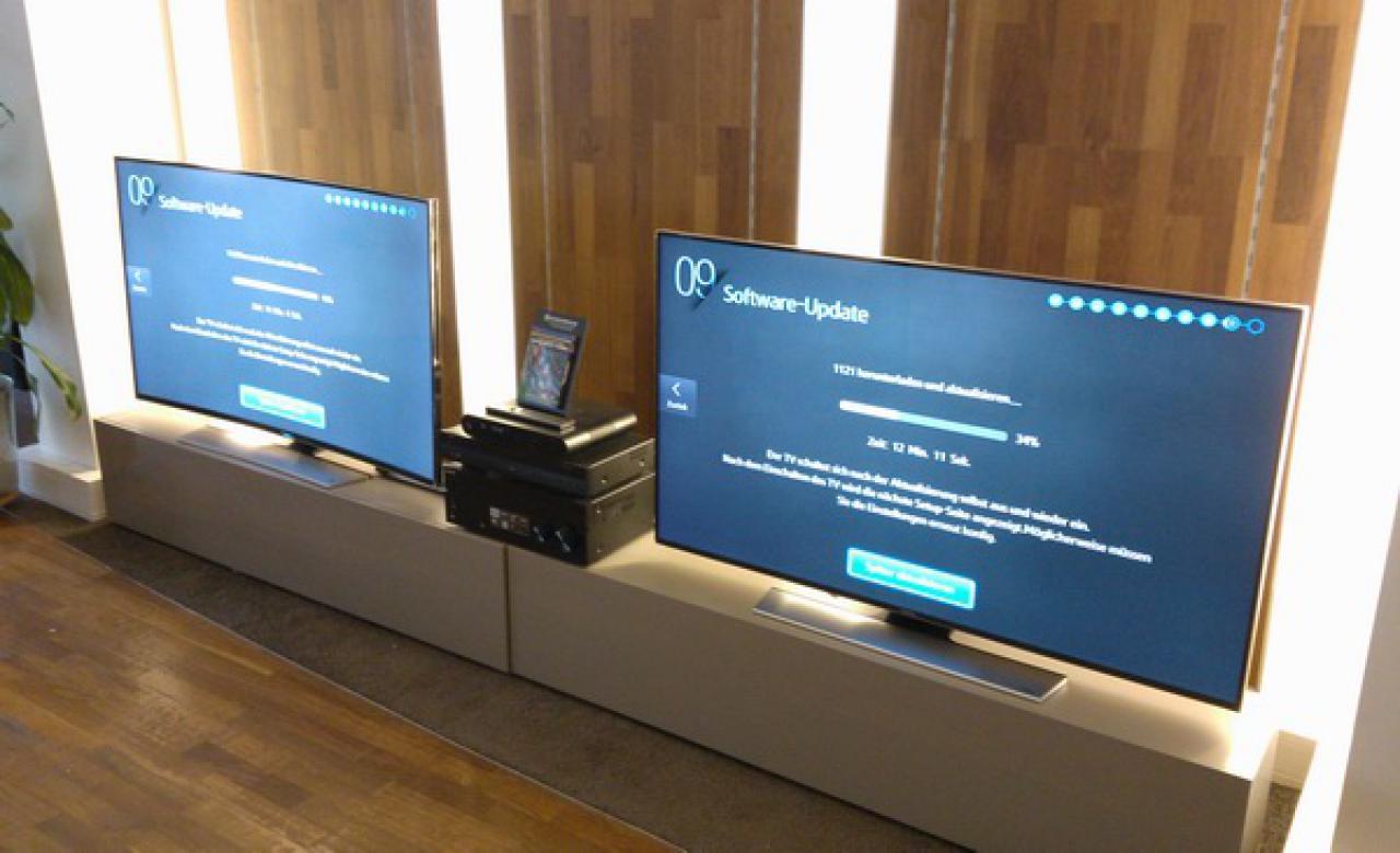 Konfiguration der Samsung Fernseher