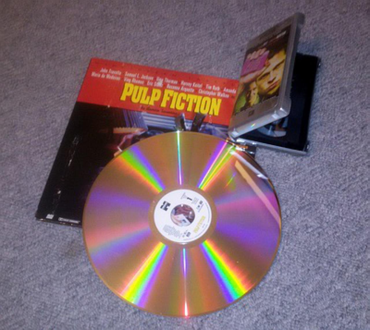 Laserdisc VHS als Pioniere der Heimkino-Kaufmedien