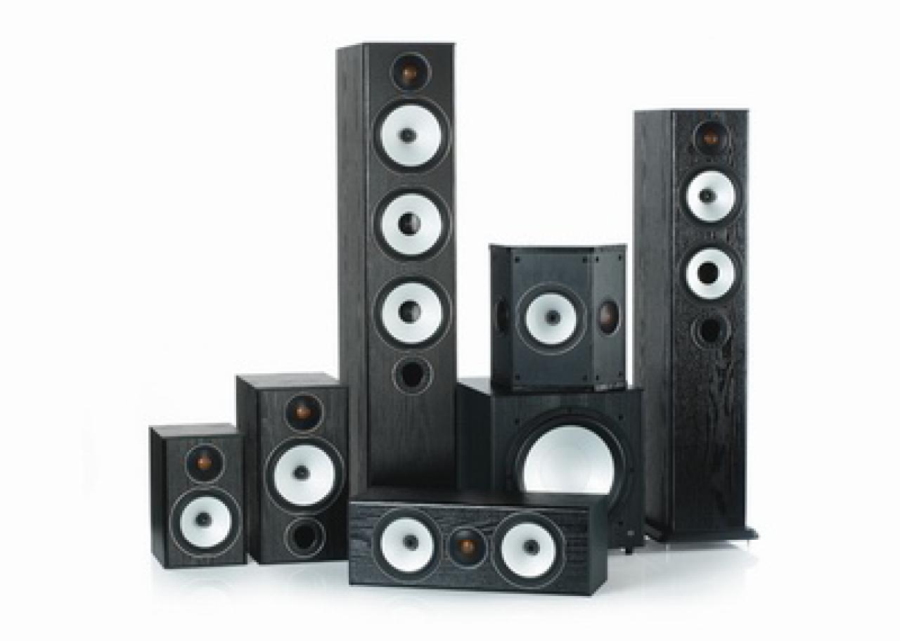 DolbySurround Monitor Audio Silver