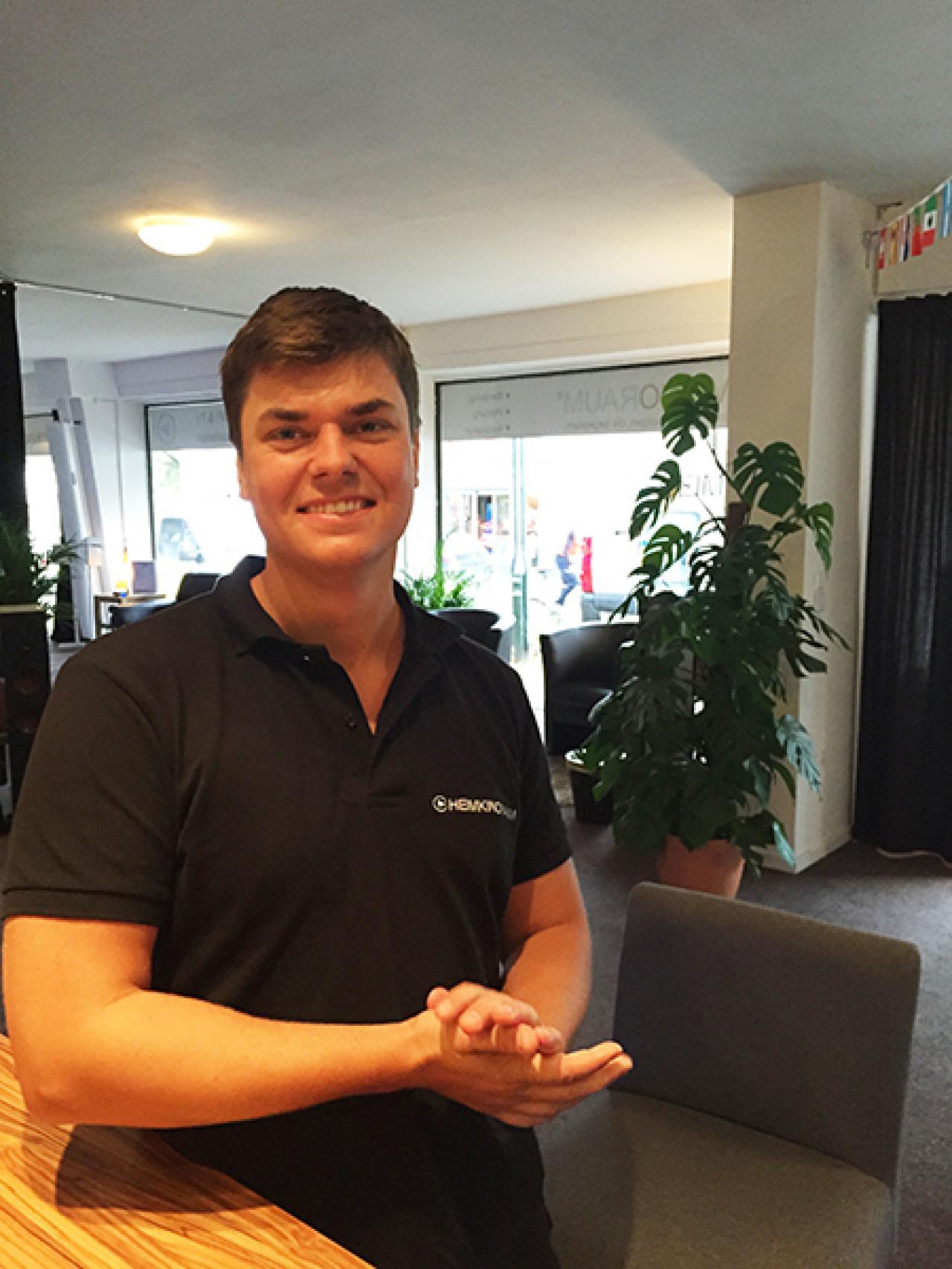 Fabian Nitsche Verkauf Mitarbeiter Heimkinoraum Stuttgart