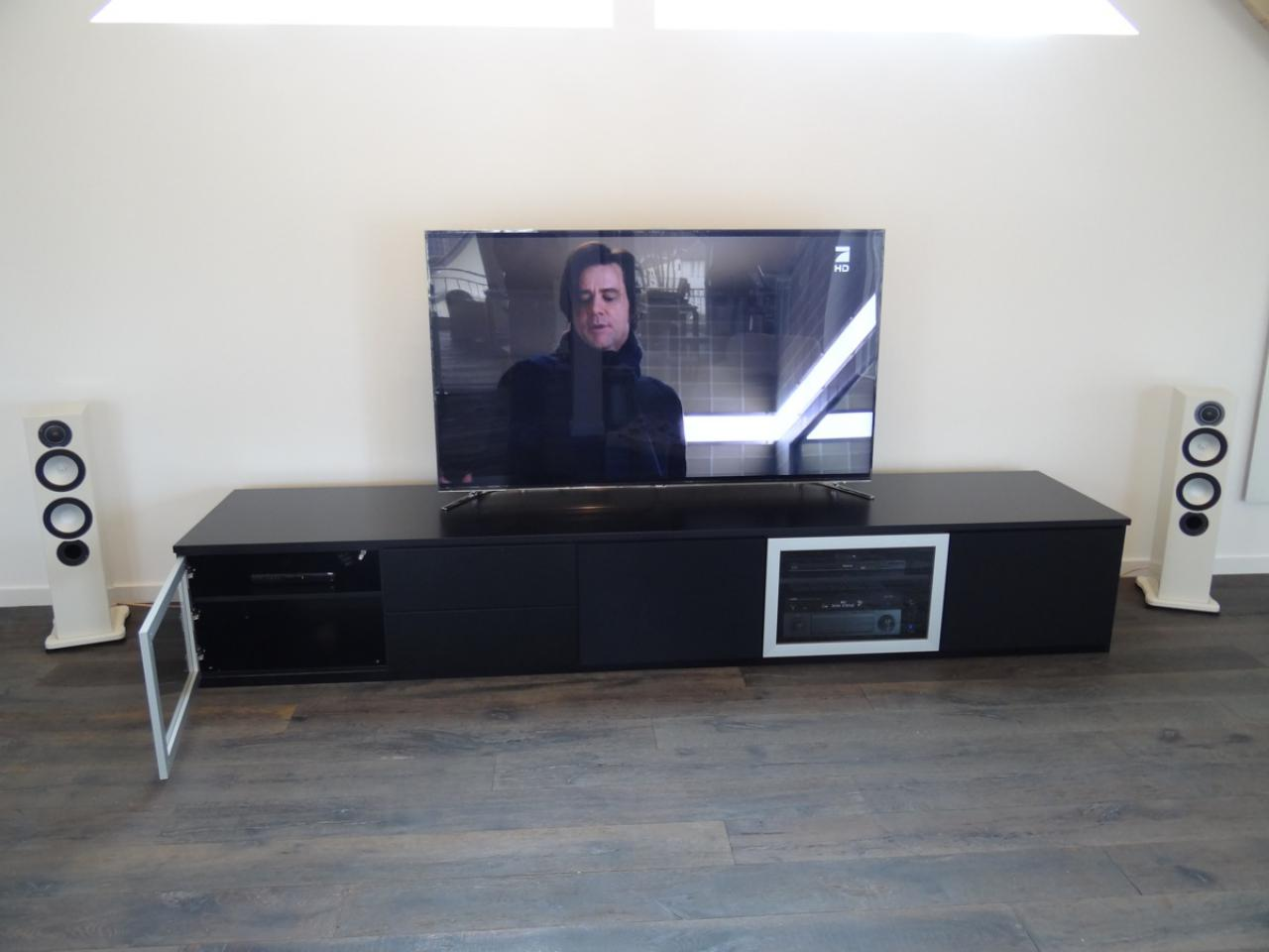 Heimkino studio 75 in k ln 75 zoll flat tv l sung m - Tv wandhalterung 75 zoll ...