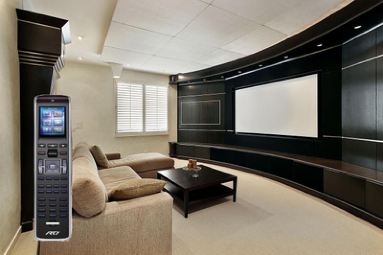 heimkino ausstattung eine mediensteuerung f r ihr heimkino. Black Bedroom Furniture Sets. Home Design Ideas