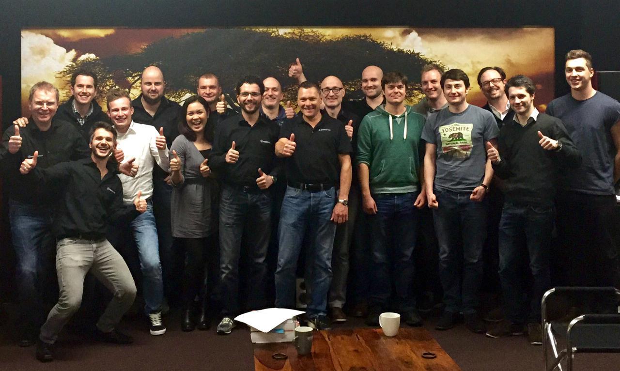 Heimkinoraum Team 2014