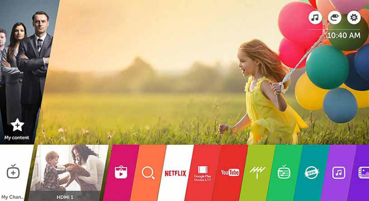 LG HF80JS Web OS 3.0