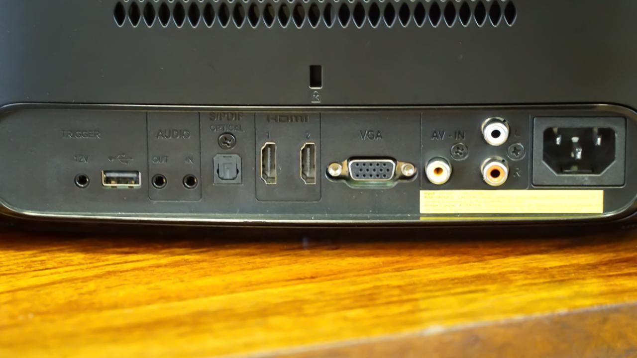 Anschlüsse Philips Screeneo 2.0 HDP2510