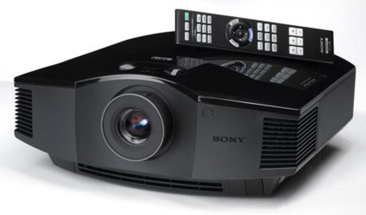 Sony Beamer HW40 Heimkino