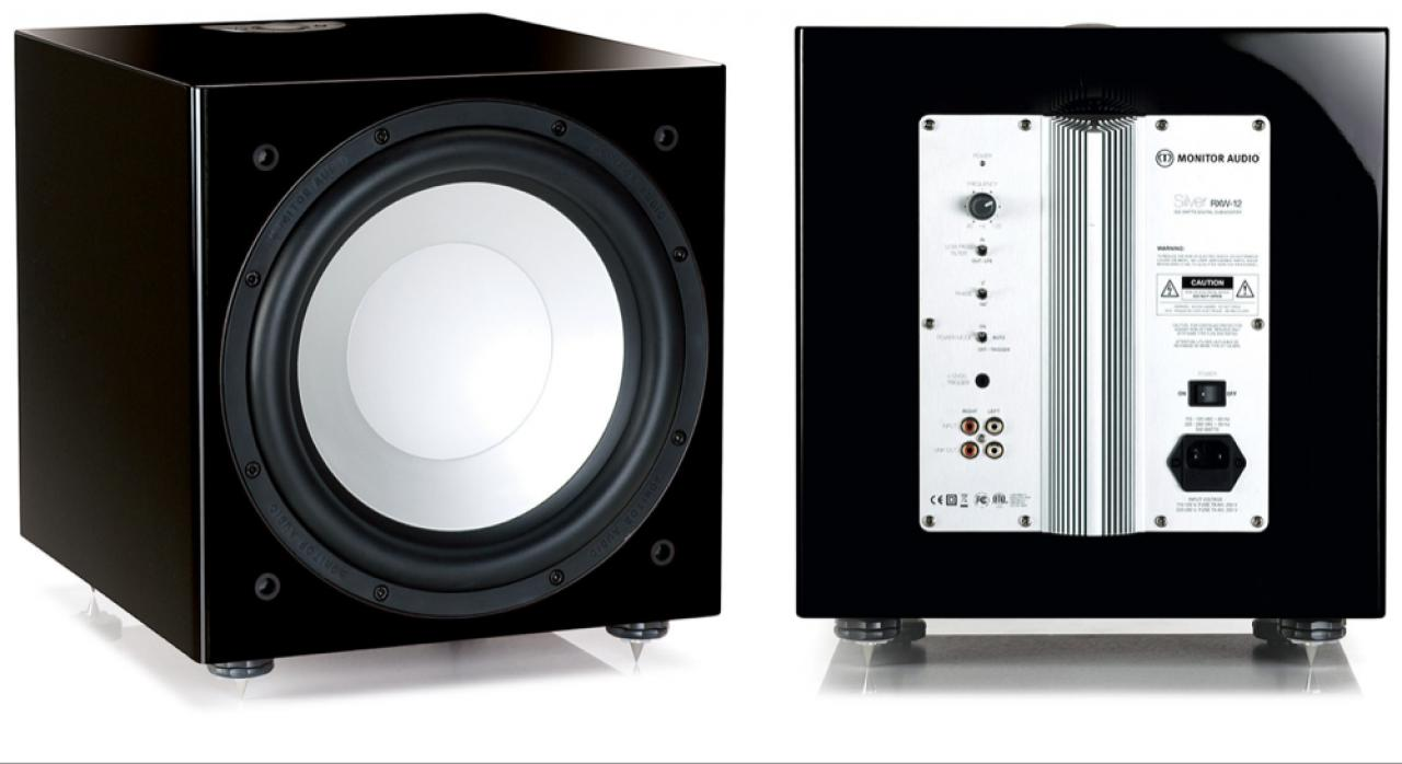 Subwoofer: Monitor Audio Silver W12