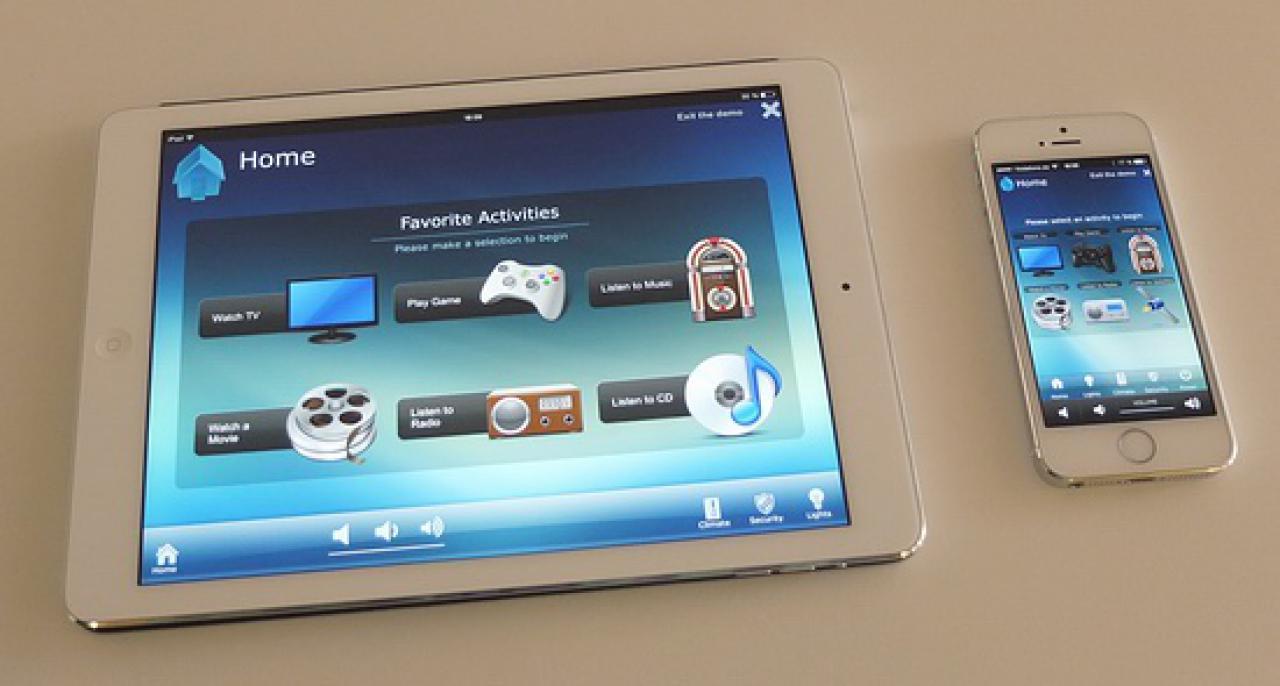 RTI System Steuerung per Tablet und Smartphone
