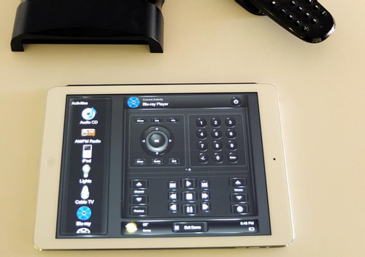 Tablet Android und iOS Steuerung Fernbedienung