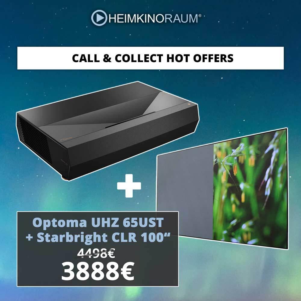 OPTOMA LaserTV HEIMKINORAUM