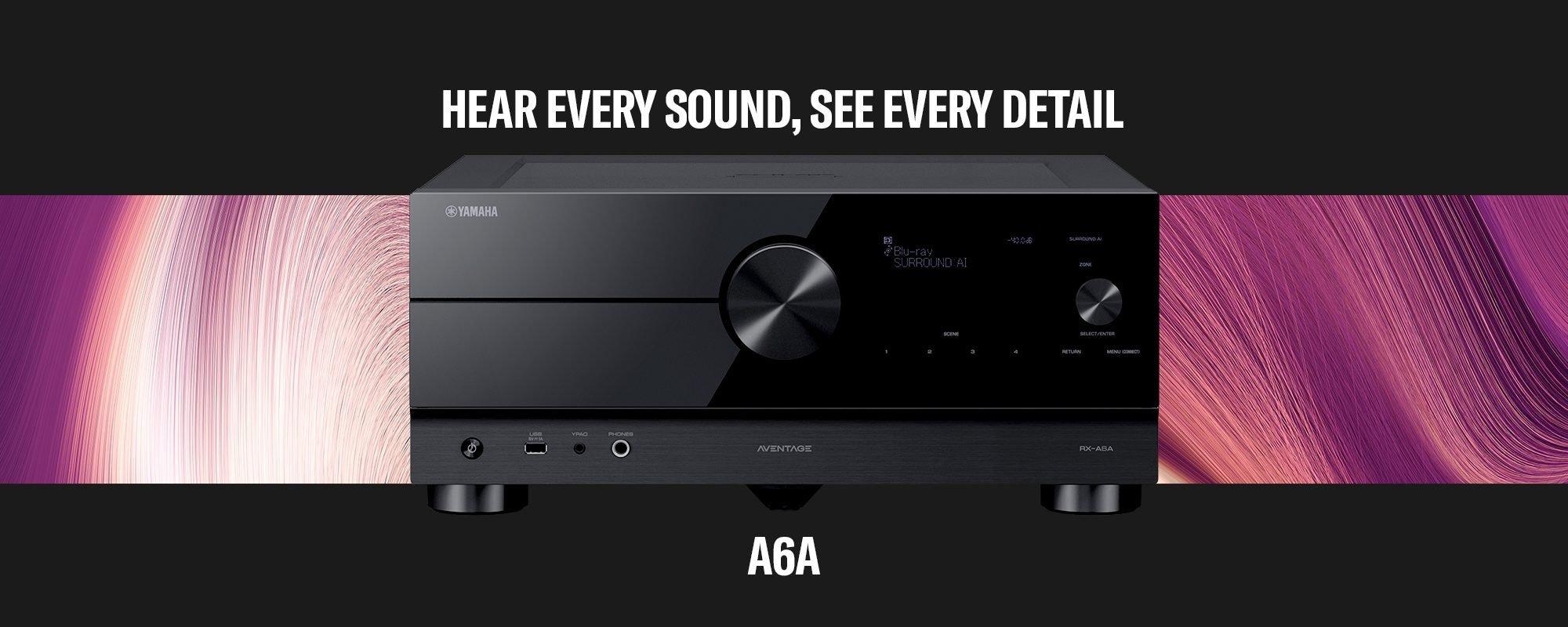 Yamaha AV-Receiver - Jeden Sound hören - jedes Detail sehen