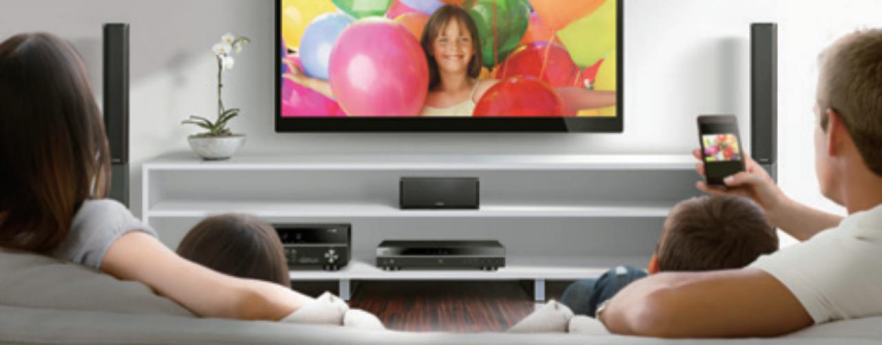 WLAN Blu-ray Player von Yamaha mit WLAN und Miracast