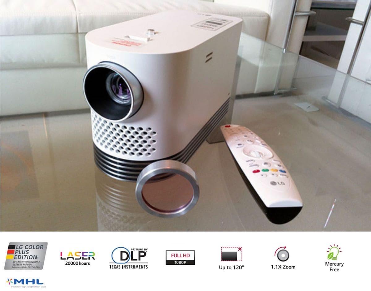andante farbfilter - LG Andante HF80JS FullHD Laser Beamer - Heimkinoraum Edition