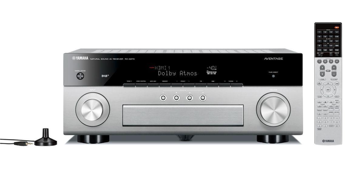 yamaha rx a870 av receiver 03 0 - Yamaha RX-A870 AV-Receiver - Heimkinoraum Edition