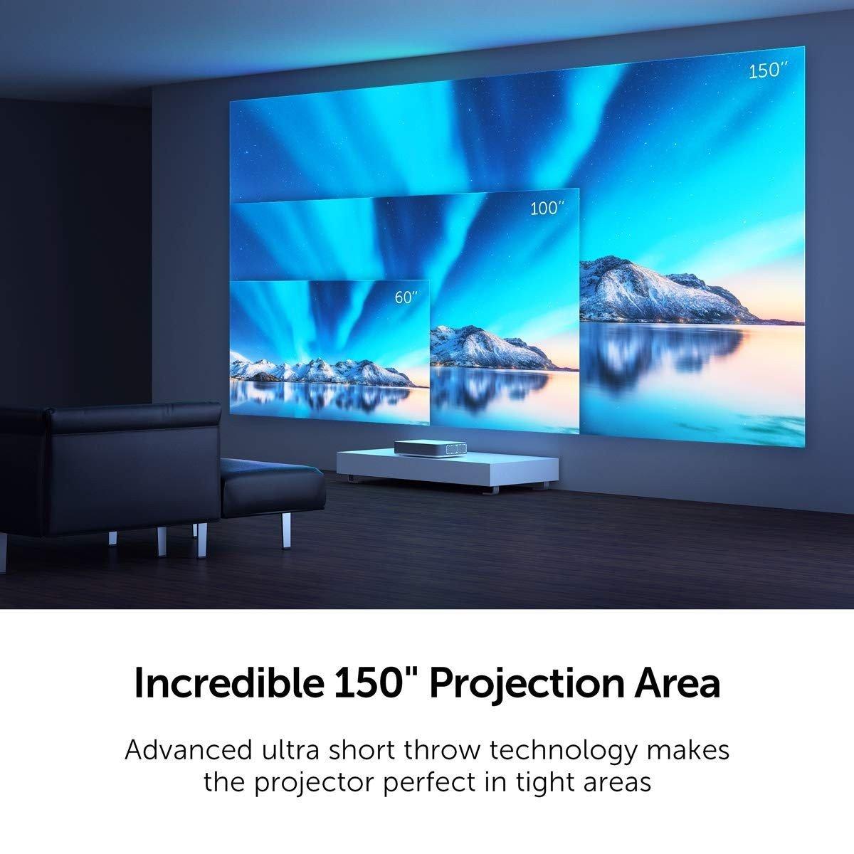 VAVA 20K UHD Laser TV Beamer   HEIMKINORAUM Edition