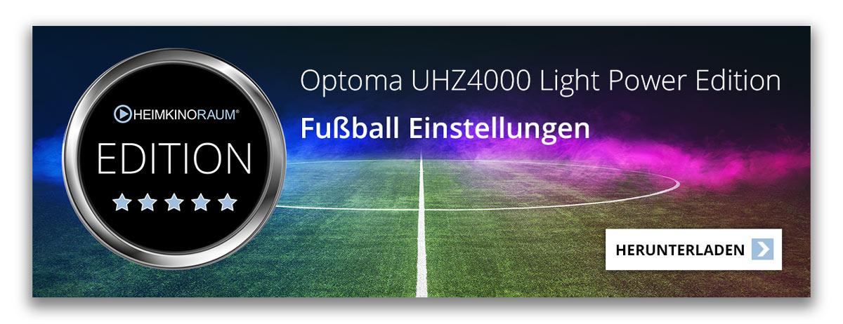 Hier erhalten Sie die perfekten Beamer Einstellungen für den Optoma UHZ4000