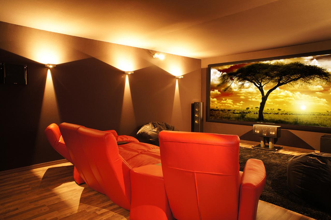 Kinoraum Zuhause