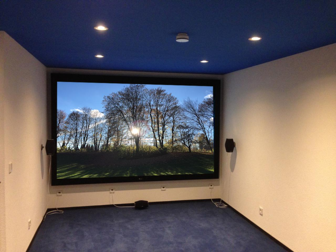Referenz Heimkino Deep Blue Made By Team Kln Wand Selber Bauen