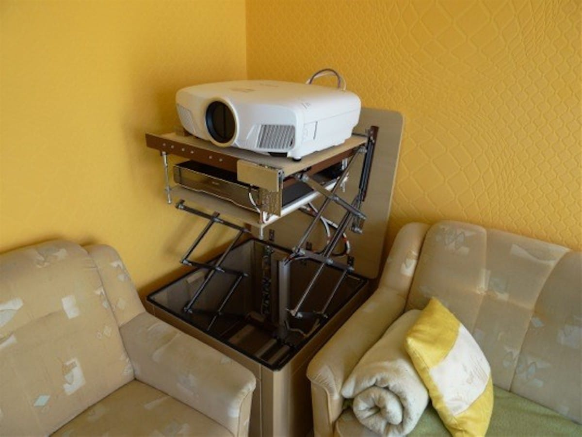 heimkino selfmade. Black Bedroom Furniture Sets. Home Design Ideas