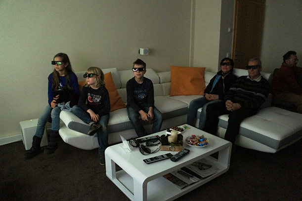 4K und 3D live erleben im Heimkinoraum