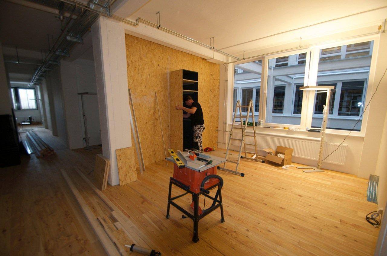 Wandverkleidung Holz Bremen ~ HEIMKINORAUM Bremen Bau des Beamer Vergleichs Bereichs