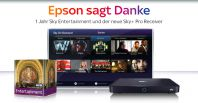 Epson-Aktion: 12 Monate Sky Entertainment inklusive