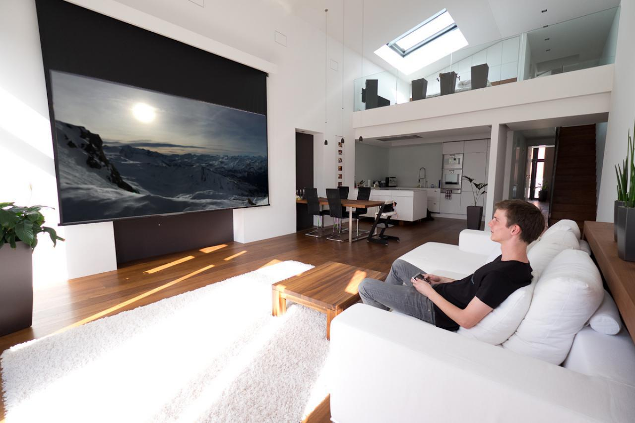 news - heimkinoraum.de - Wohnzimmer Ideen Beamer