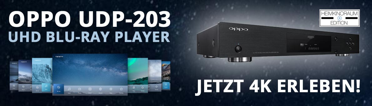 Oppo UHD Blu-Ray Player UDP-203 - HEIMKINORAUM Edition