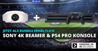 Sony Playstation 4 Pro 4K Gaming Beamer Bundle