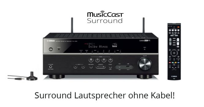 """MusicCast Surround"" - Endlich Surround ohne Kabel!"