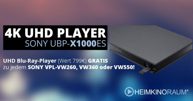 SONY - 4K PLAYER GRATIS