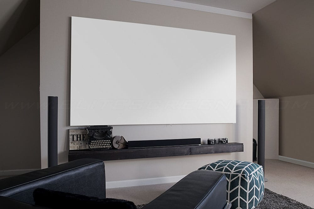 Rahmenleinwand Elite Screens Aeon Edge Free