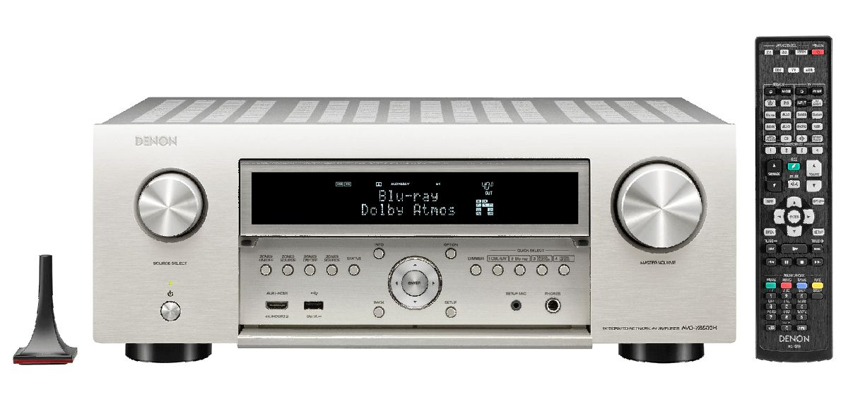 silber - inkl. Denon Home 150 weiss
