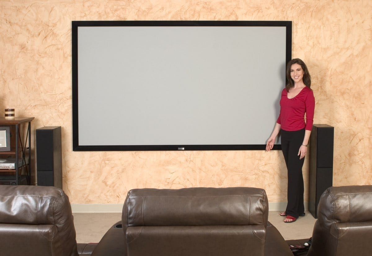 Rahmenleinwand Elite Screens EZ Frame CineGrey 5D