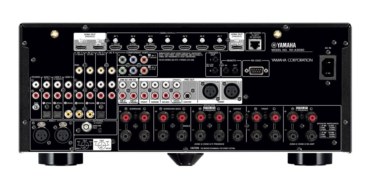yamaha rx a3080 av receiver heimkinoraum edition. Black Bedroom Furniture Sets. Home Design Ideas