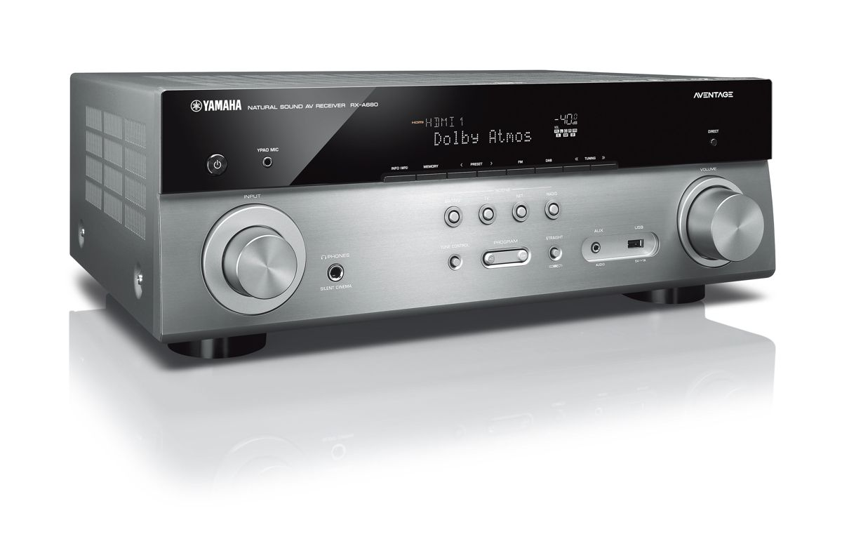 yamaha aventage rx a680 7 2 av receiver heimkinoraum. Black Bedroom Furniture Sets. Home Design Ideas