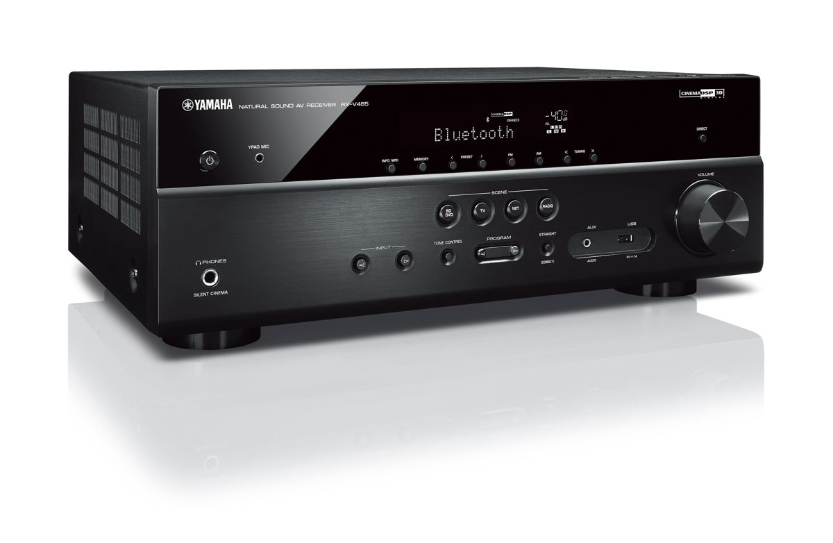 yamaha rx d485 dab av receiver. Black Bedroom Furniture Sets. Home Design Ideas
