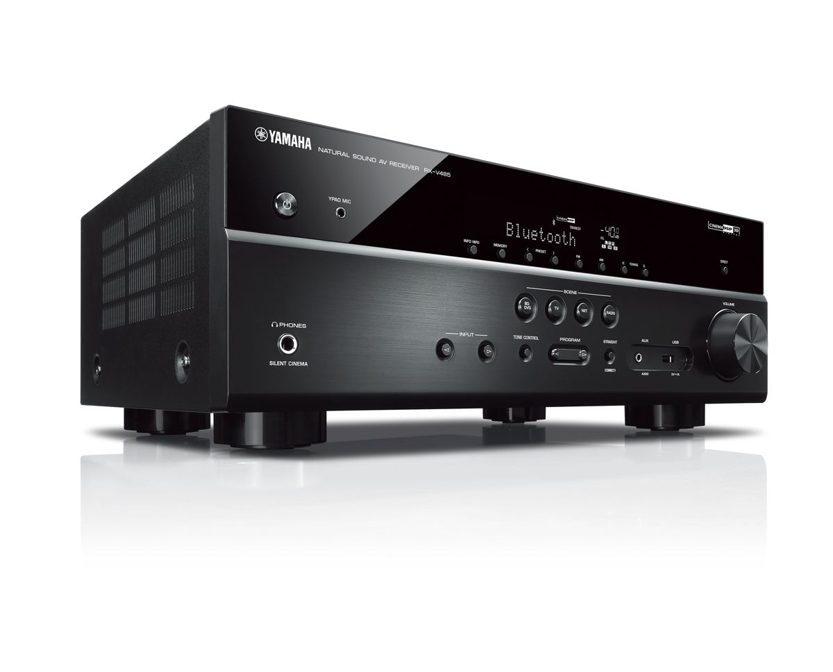 yamaha rx v485 5 1 av receiver. Black Bedroom Furniture Sets. Home Design Ideas