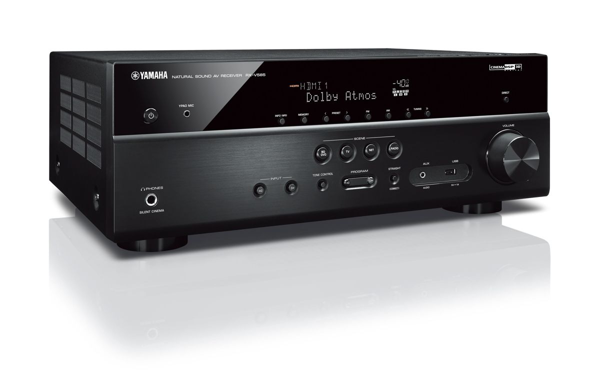 yamaha rx v585 7 2 av receiver heimkinoraum edition. Black Bedroom Furniture Sets. Home Design Ideas